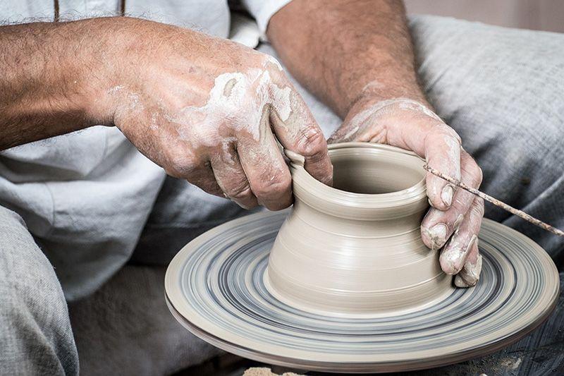 Pottery - Handbuilding & Pottery Wheel